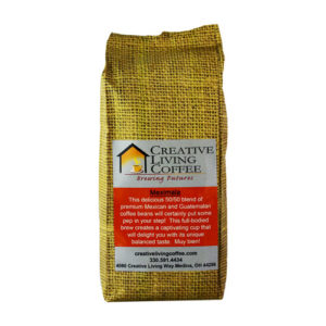 picture of the creative living coffee meximala coffee roast with a white background