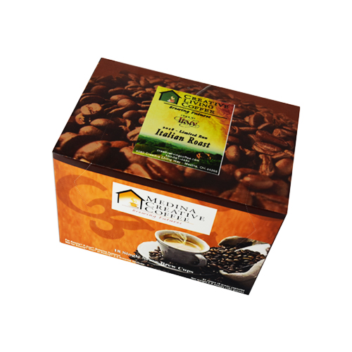 picture of the creative living coffee keurig cups for the premium italian dark roast c cups