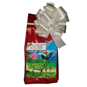 picture of the blue mountain coffee holiday brew from creative living coffee