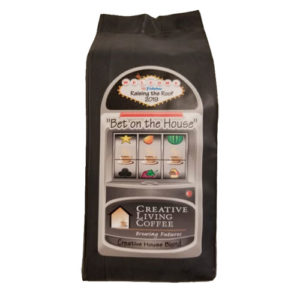 creative living coffee bet on the house blend bag